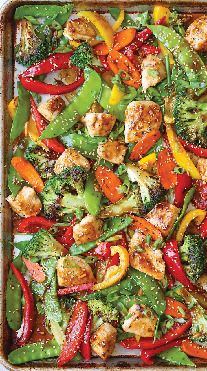 A quick and easy weeknight dinner. Get the recipe here.