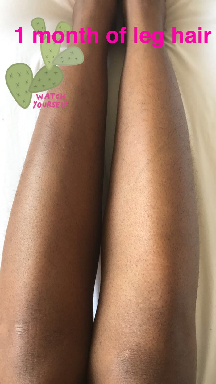 To get rid of the hair on my legs, I've always just shaved them. When I was younger I tried Nair, but I HATED the smell and vowed to never do it again. While I haven't waxed my legs before, I have gotten bikini waxes for several years now. It hurts like a mother, but it works so I deal with it. I wasn't sure what to expect from this wax beads method, but I had my doubts that it would be painless.