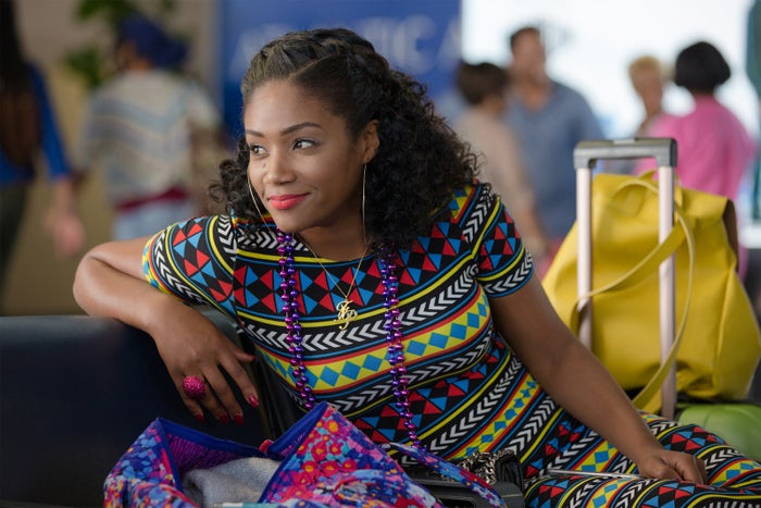Tiffany Haddish as Dina in Girls Trip.