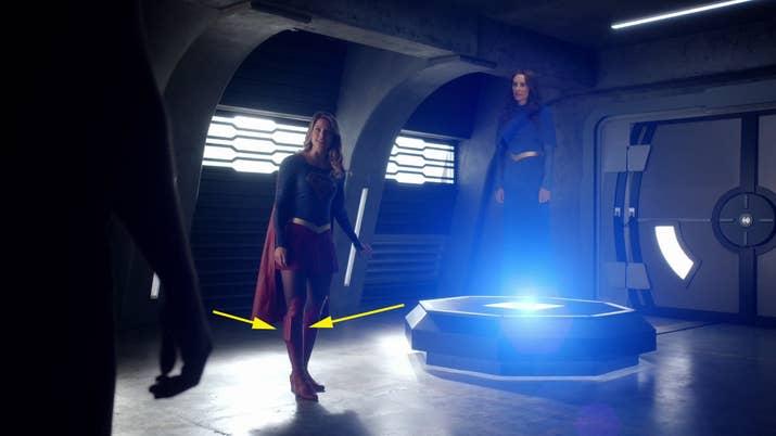 Melissa Benoist wishes the Supergirl costumer had pockets.