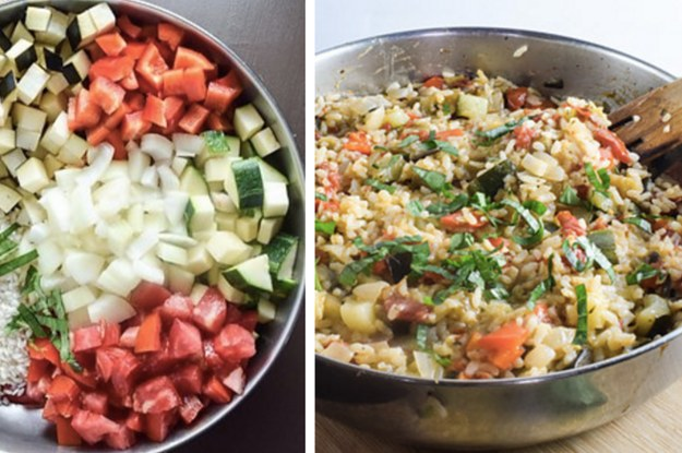 16 One Pot Dinners That Are Actually Healthy