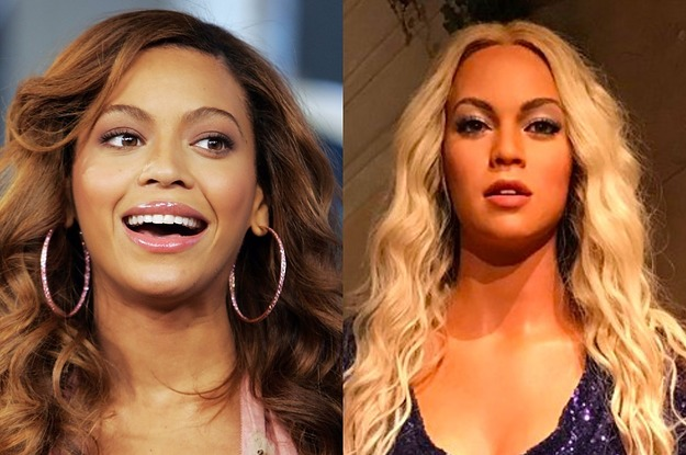 Beyoncé's Alleged Wax Figure Was Revealed And People Are Pretty Confused About It