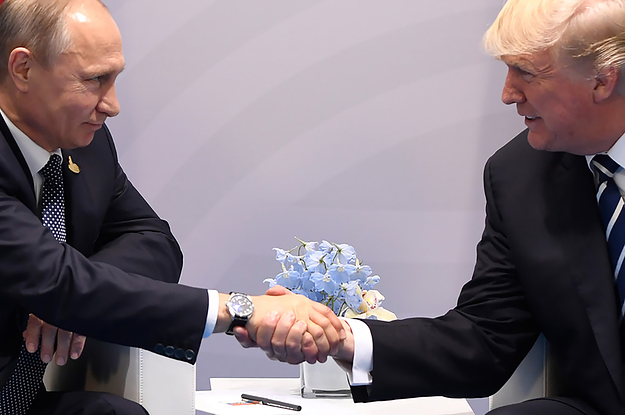 This Is How That Second Putin-Trump Meeting Really Went Down