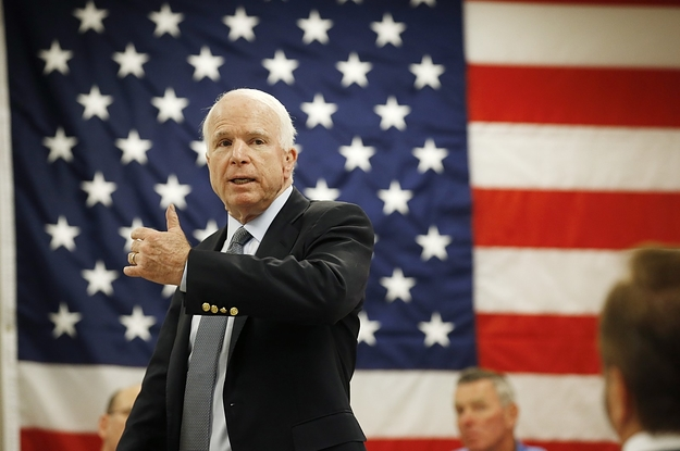 Sen. John McCain Has Been Diagnosed With Brain Cancer