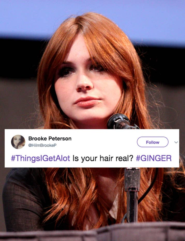 21 things gingers and redheads are fucking sick and tired of no i bought ginger hair extensions from ginger ebay yes its real pmusecretfo Gallery