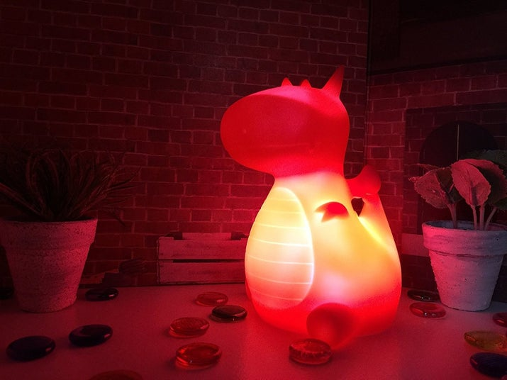 """Promising review: """"I wanted something cute — but also serving a function — on my desk in my room, and this light meets that criteria. This little dragon light is adorable and it's way brighter than I expected it to be."""" —Mika D.Get it from Amazon for $12.95 (available in four colors)."""