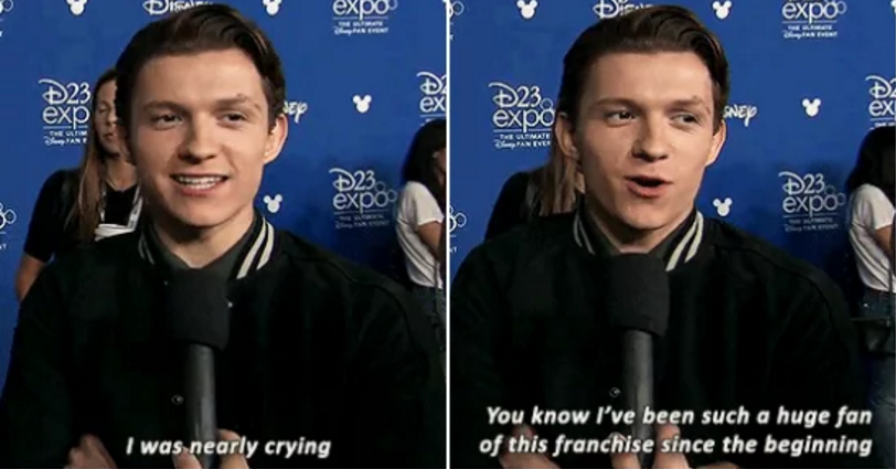 23 Times Tom Holland Was Simply Too Pure For This World