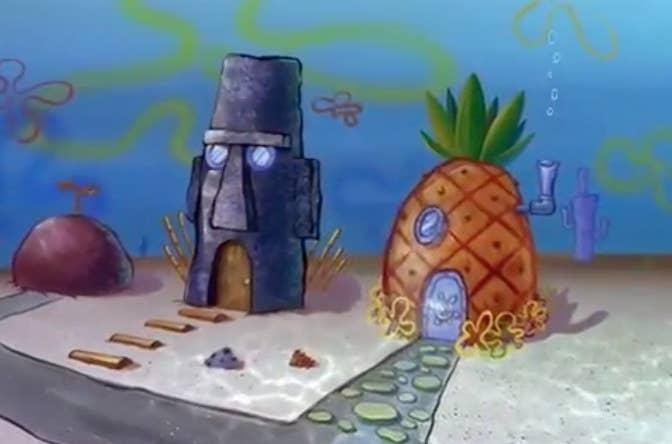 95 Gambar Mentahan Rumah Spongebob Gratis Terbaik