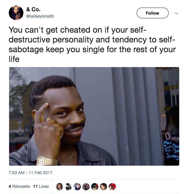 Literally Just 21 Funny Tweets About Self Sabotaging