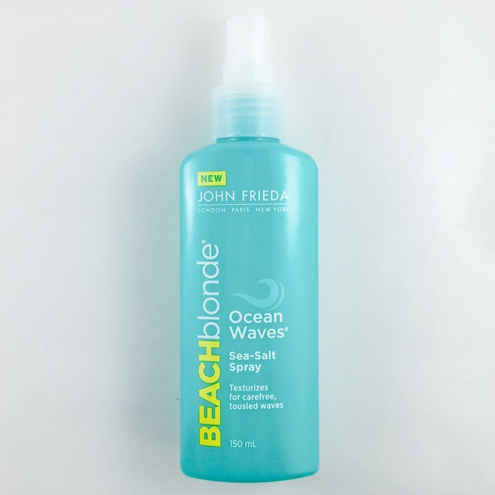 """Promising review: """"Summer extended! Love my hair at the beach and crave it when I'm not there. This sprays on after a wash (heck -- I've used it on dry hair), has a lovely smell, and delivers what is promised: BEACH HAIR. It's not as heavy as other (Bumble) products I've tried."""" —Katherine S.Get it from Amazon for $7.49."""