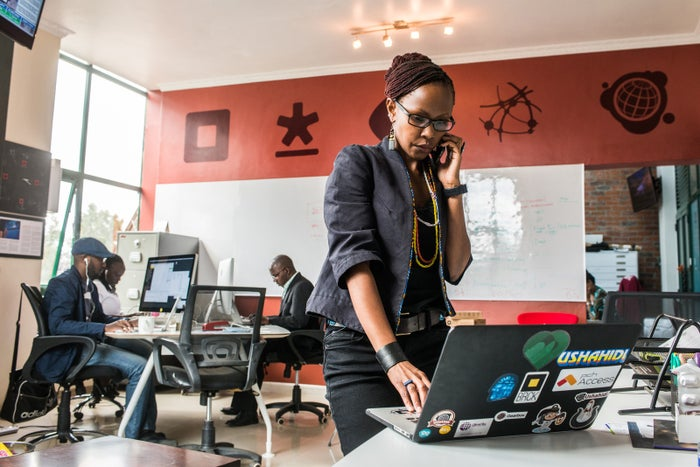 Juliana Rotich is a cofounder and board member of Ushahidi. Kabari said she filed a complaint against Were to Rotich.