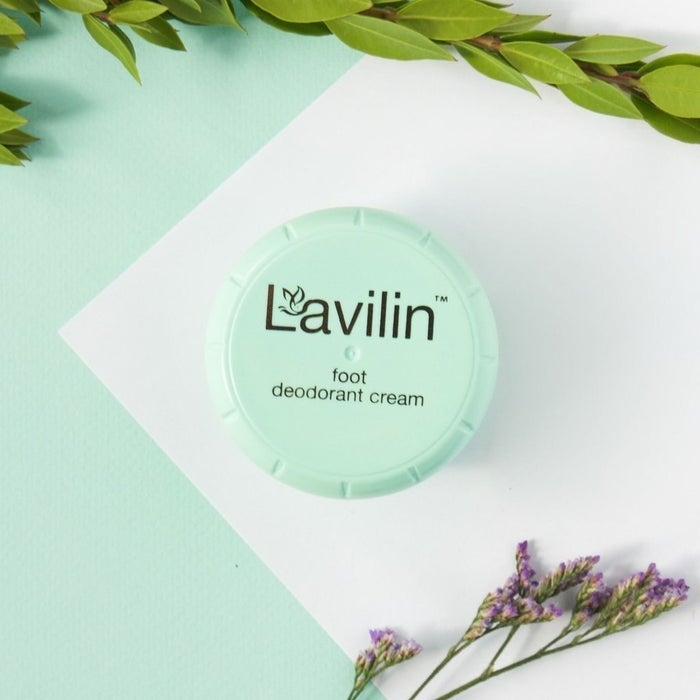 """Promising Review: """"If you have sweaty feet there is nothing on the market better than Lavilin. I've tried everything and this stuff is the only product that actually works. My feet use to sweat and smell. Not anymore!"""" —TrackerGet it from Amazon for $15."""