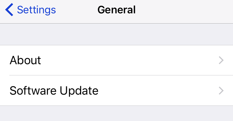 The easiest way to update your iPhone is wirelessly. Go to the Settings app > General > Software Update.