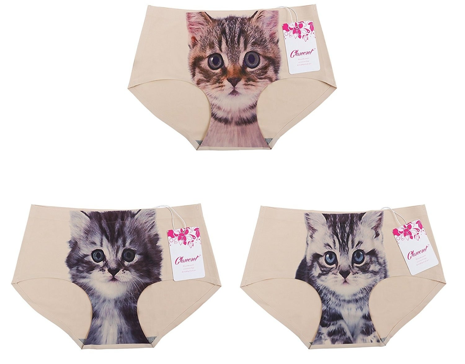 "Get a pack of three from Amazon for $13.99.Promising review: ""Very nice panties but they run very small — the medium fits like a small, the small probably fits like an extra small. They are very soft, though, and sewn well. I will order more in a large!"" —Nicole Atkinson"