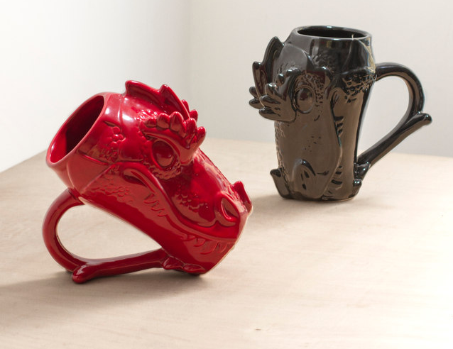 "Get it from Firebox for $21.79. Available in red and black.Promising review: ""Awesome mug! Nice and big, holding about two cups worth of coffee. Surprisingly light, considering the size!"" —MarkCheck out BuzzFeed's very own GoT drinking game here."