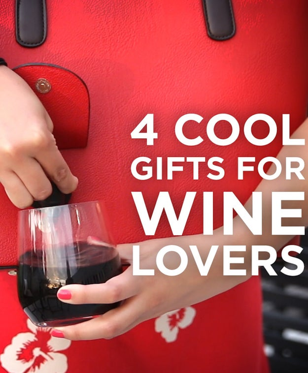 Wine Lovers Will Want To Buy All Four Of These Products