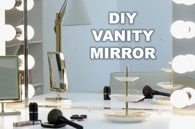 diy vanity. These DIY Vanity Mirror Lights Are A Game Changer For Your Morning Routine