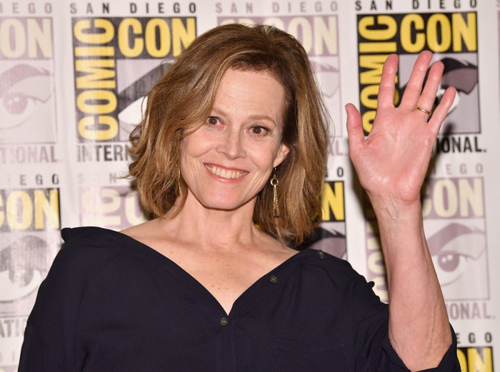 Sigourney Weaver at San Diego Comic-Con on July 21, 2017.