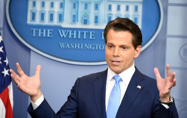 A wealthy businessman with slick television skills (and a great head of hair), the president hired Scaramucci on Friday. Press secretary Sean Spicer then immediately resigned in protest.