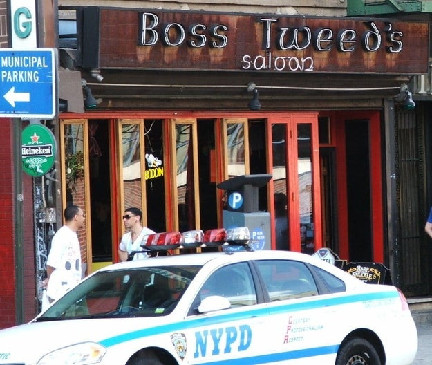 "A 20-year-old woman got locked in a New York City bar overnight on Thursday, and she's ""pretty sure"" she was drugged."