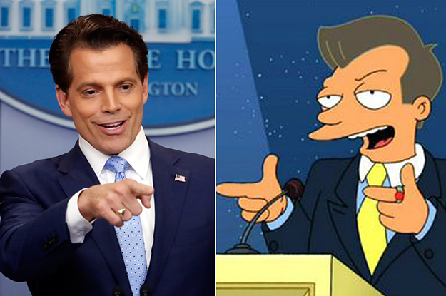 "Twitter Has Decided Trump's New Communications Director Is The Boneitis Guy From ""Futurama"""