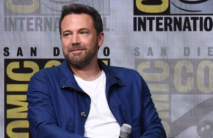Ben Affleck attends the Warner Bros. Pictures Justice League presentation during Comic-Con International 2017 at San Diego Convention Center on July 22, 2017 in San Diego, California.