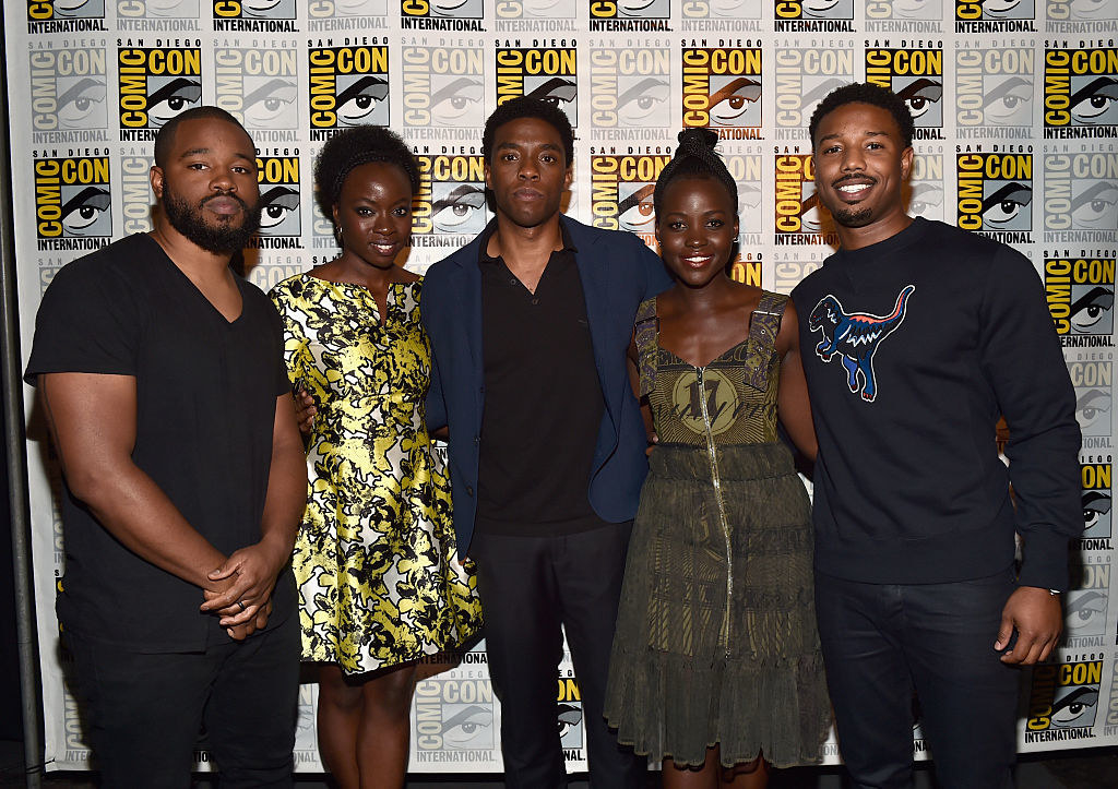 """There Was An Incredible """"Black Panther"""" Scene Shown At Comic-Con And It Was Everything"""