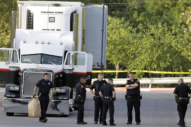 At Least Eight People Were Found Dead In A Truck In A