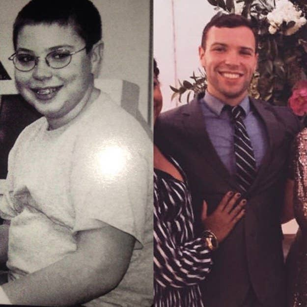 """""""From sixth grade to age 24. The worst part was that in the black-and-white photo, you can't tell, but I was randomly holding a clarinet...?""""—ianh4eb306dd0"""
