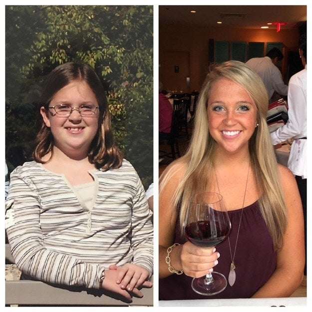 """Thankful for getting out of the awkward stage.""—jennyk491e381c0"
