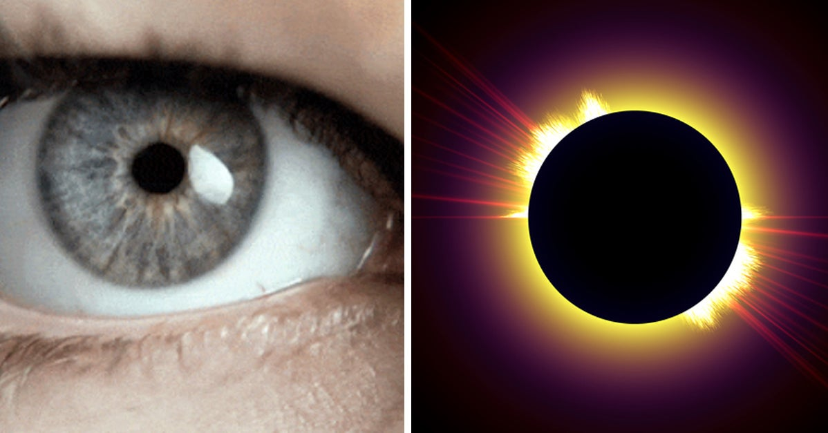 Here's What Actually Happens If You Look Directly At The Sun
