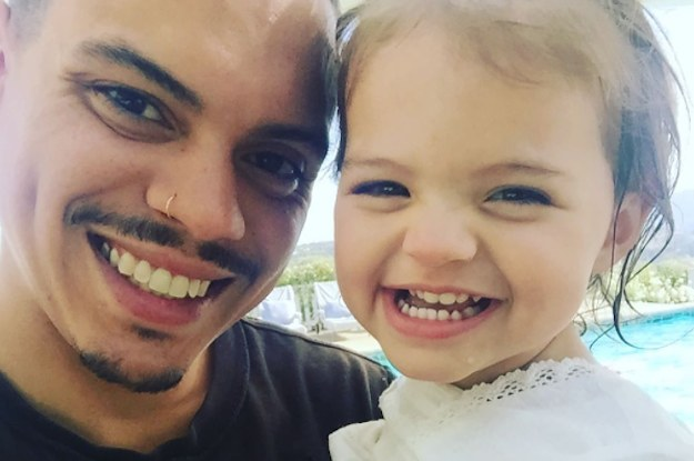 Look Out Ashlee Simpson, Your Daughter Is Definitely Daddy's Little Girl