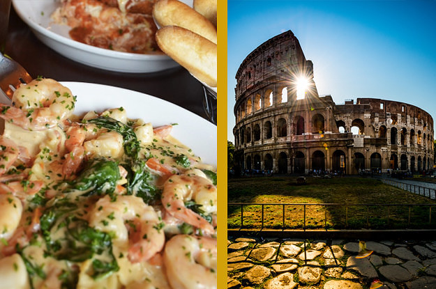 Eat At Olive Garden And We 39 Ll Tell You Which Italian City You Should Visit