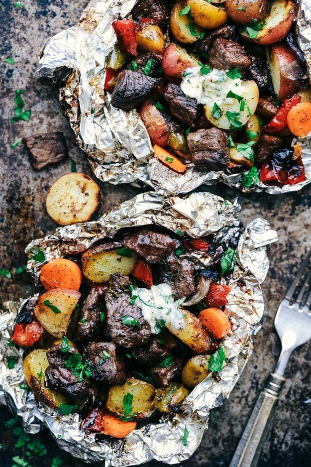 Butter Garlic Herb Steak