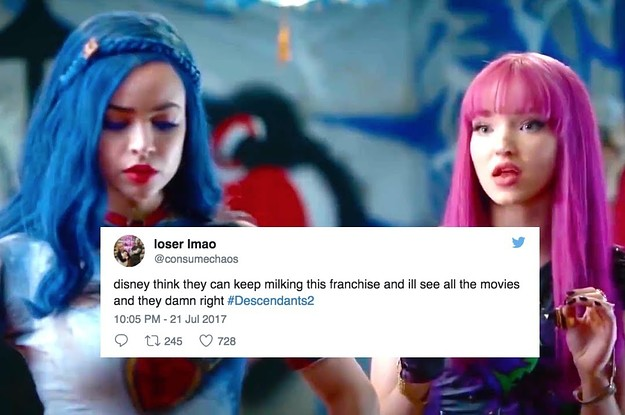 "19 Tweets That Perfectly Sum Up Watching ""Descendants 2"""