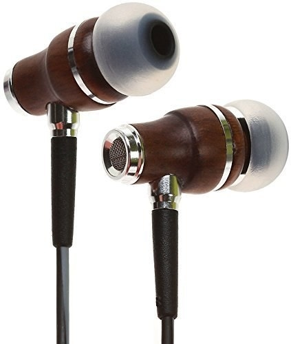 The wood grain headphones