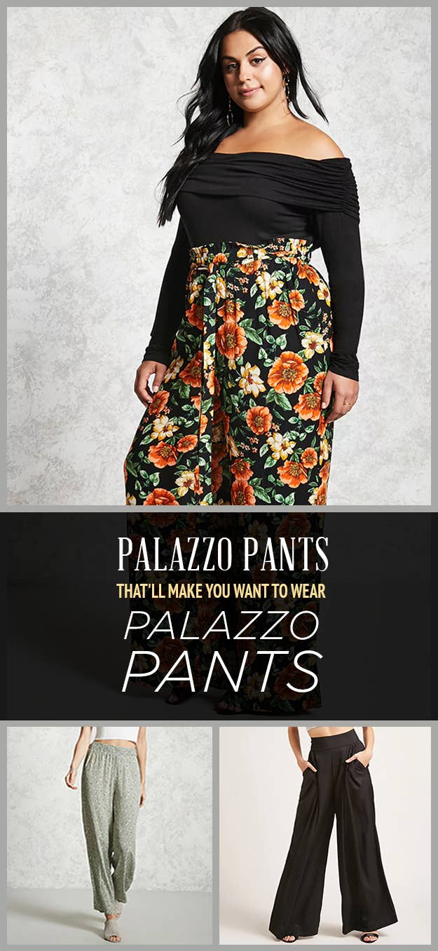 6317564d703 We Bet You Can t Get Through This Post Without Buying At Least One Pair Of Palazzo  Pants