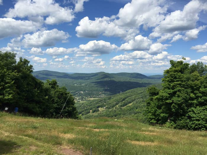 The Catskill Mountains are just a two-hour car ride or a three-hour train ride from the city. There's tons to do there, like hiking, biking, fishing, camping, and even beer tasting!