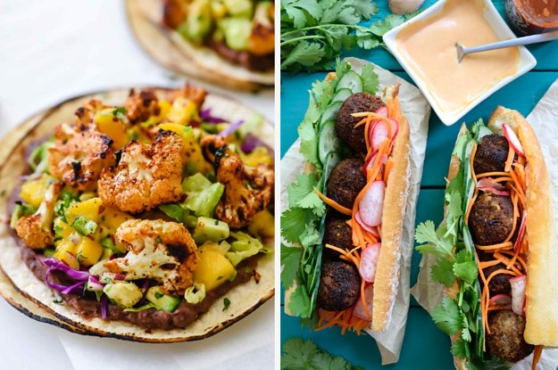 42 dinner ideas if youre trying to cut back on meat or dairy forumfinder Images