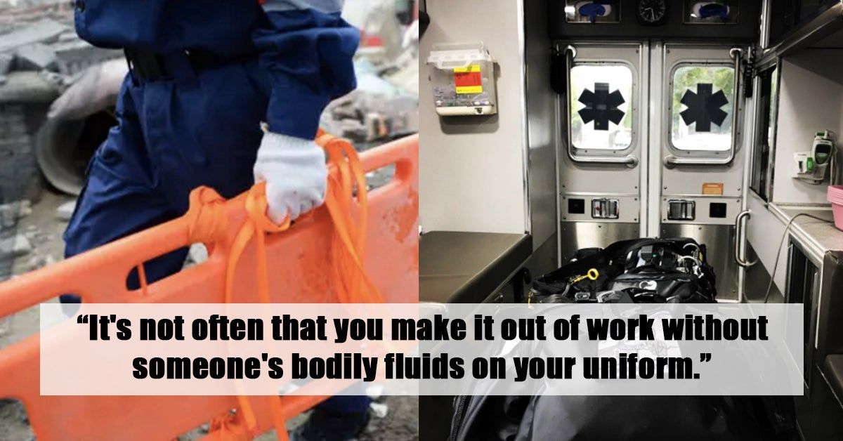 24 Brutally Honest Confessions From EMTs and Paramedics