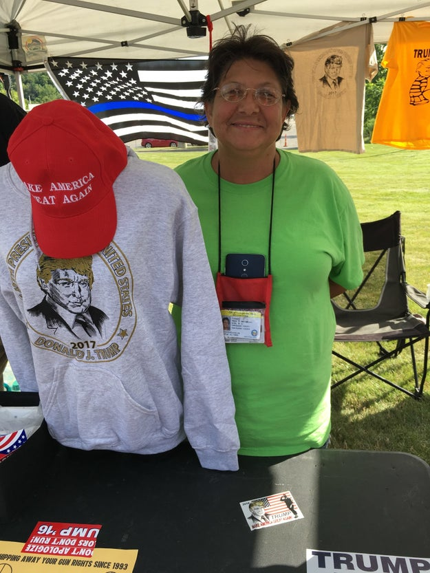 It was a common theme. Dawn, who has sold merchandise outside many Trump rallies over the past year, said she believes the president has already made things better.