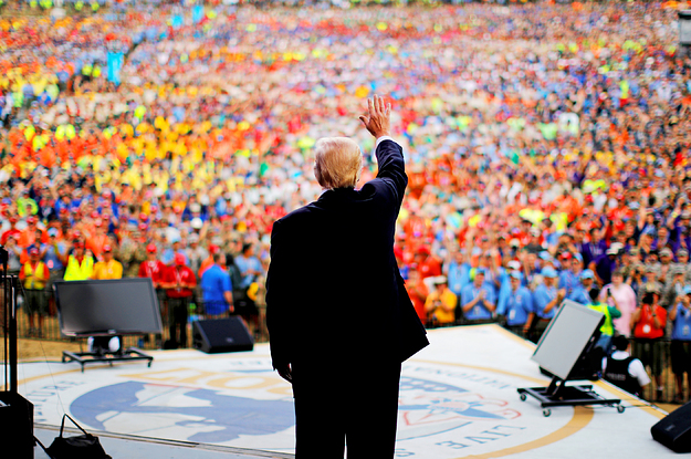 Trump Used A Boy Scout Gathering To Launch Political Attacks And Troop Leaders Are Not Happy