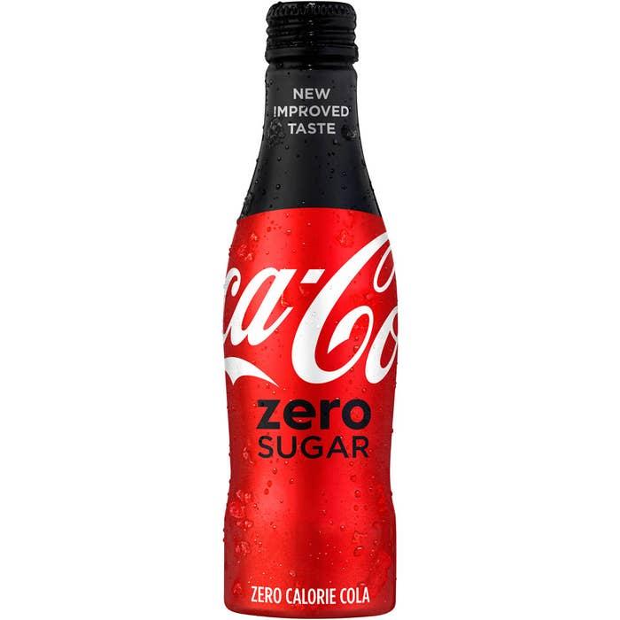coke zero nutrition label