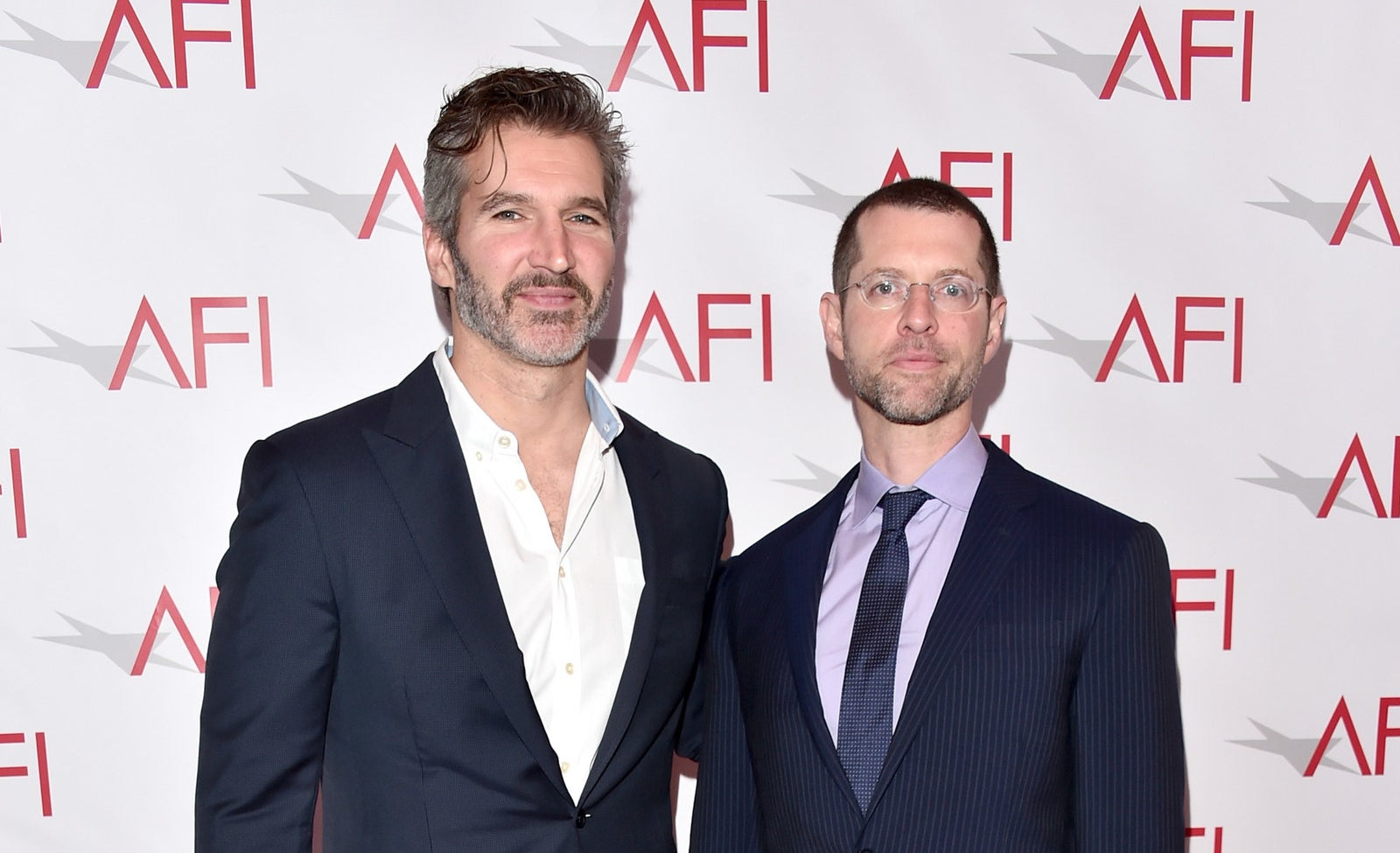 Game of Thrones showrunners David Benioff and D. B. Weiss.