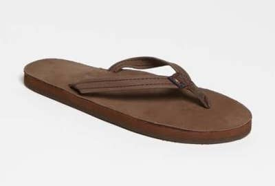 679d662beb5 Rainbow sandals with layers of memory foam that ll mold into the exact  shape of your foot. It also helps that they re boho as hell.