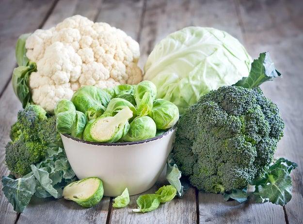 калорийность вареной брюссельской капусты