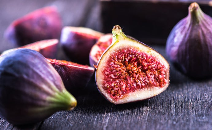 Figs are pollinated by female wasps, who lose their wings in the process of pollination. The wasp has no way to get out of the fig and so they die inside, and then the fig's enzymes breakdown and dissolve the wasp. —neilabutler