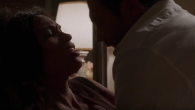 Perhaps Rosario Dawson's sex scene in Unforgettable really revved your engine?