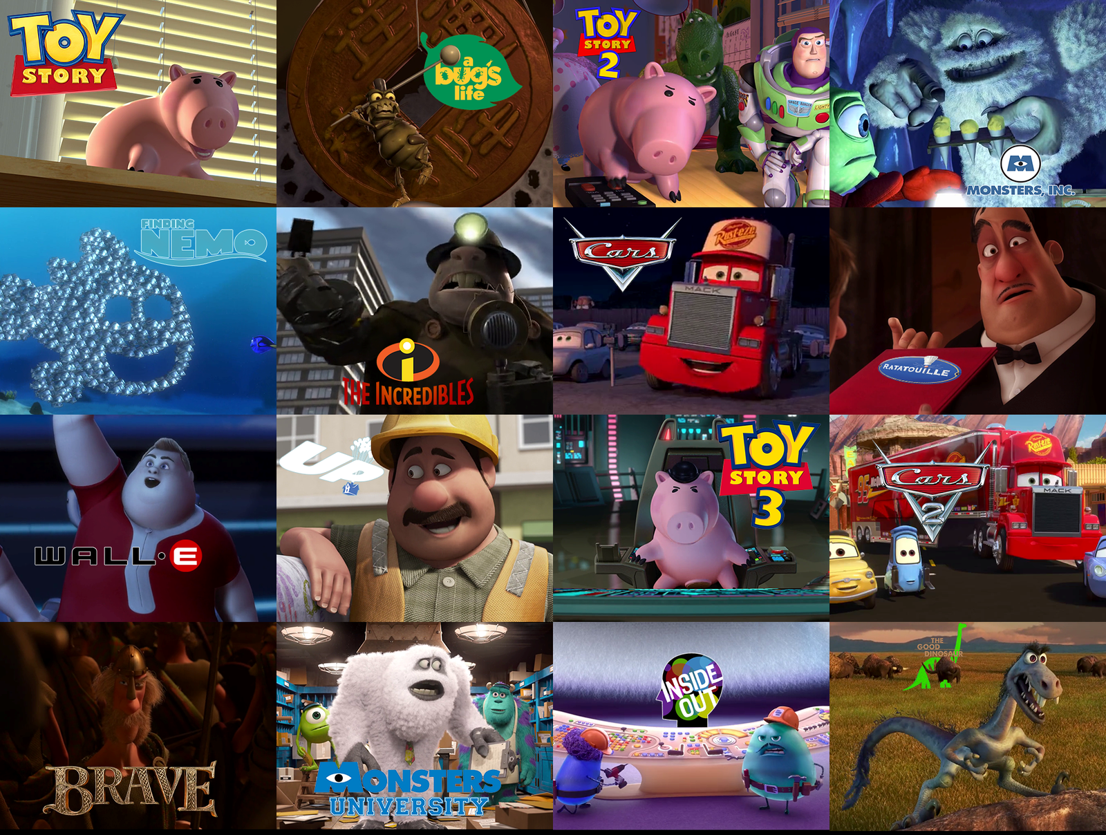 17 Completely Insane Pixar Movie Facts You Didn't Know Till Now