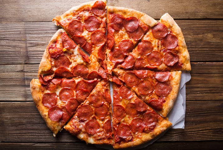 """""""People were so enthralled by the bizarre nature of what was happening, they didn't want to miss a moment, so instead of going out to dinner or making dinner, many people ordered pizza,"""" said Tim McIntyre, vice president of corporate communications for Domino's."""